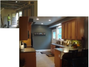before and after kitchen cincinnati